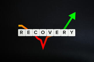 rebounding after a downturn