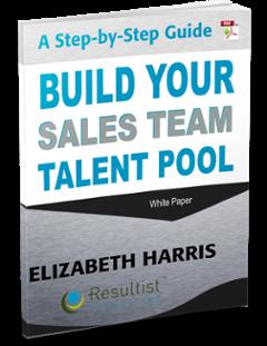 build a sales team pool of talent